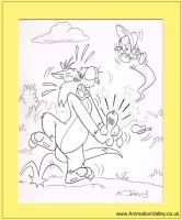 Original Loonet Tunes Sylvester and Tweety by AnimationValley