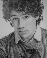 Nick Jonas - Pencil by Romeoartist