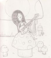 Sketch - Toadstool Tuneup by Catula