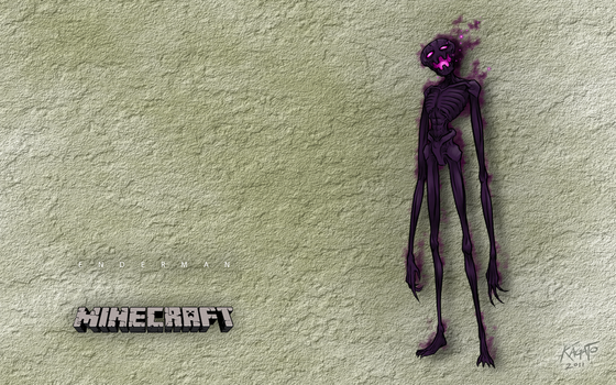 Enderman Wallpaper by StudioKagato