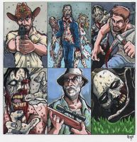 THE WALKING DEAD by JUANPUIS