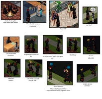 Naruto - Fun with sims 1 by Hospitalisation