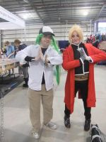 Supanova 2013 - N and Edward Elric by fulldancer-alchemist
