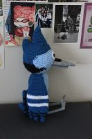 Mordecai Side View by lavvy88