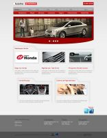 Layout - Autoline Honda by lcdesigner