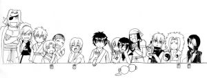 -the last supper SDK- by Namekgirl