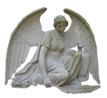 angel sculpture png by erdmute
