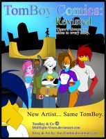 TomBoy Comics: Revisted by MidNight-Vixen