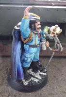 Imperial Guard Officer of the Fleet Conversion by JordanGreywolf