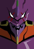 Evangelion Poster by TheDraven