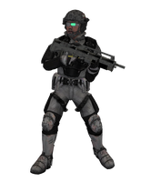 Alpha Operative - Game Ready Render by The-Port-of-Riches