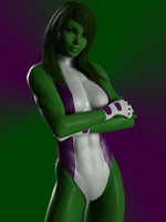 She Hulk by ironhead333