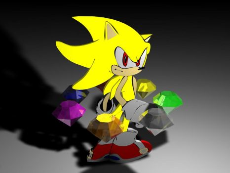 2.5D Super Sonic by KnudoW