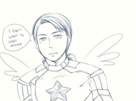 [The Avengers] Captain America by anubis0055