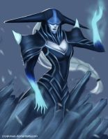 The Ice Witch by c1c4km4n