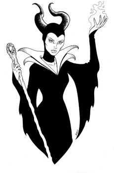 Maleficent 2014 by RubusTheBarbarian