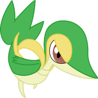 MLP-esque Snivy by LunicAura106