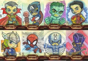 Iron Man 2 AP Cards 1 by lordmesa