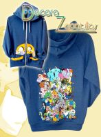 Adventure time custom hoodie handpainted by Raw-J