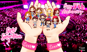 [ SNSD ] Happy 7th anniversary GG by TieuVo