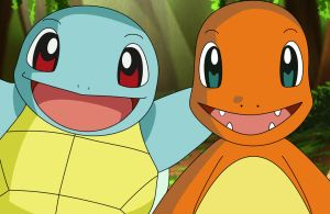Charmander and Squirtle by tovirex