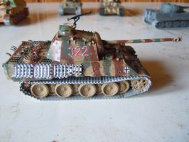 Panther ausf A by warrior1944