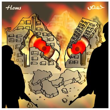 For Homs city by sameer-kH
