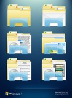 Windows 7 Folder Icons by 2Shi