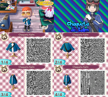 QR Code ACNL: Chaqueta de Kalm by One-Eco