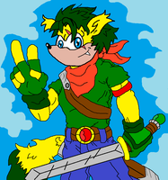Emerald Strike Sonic Style by McGreger16