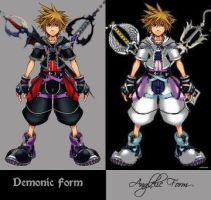Angelic and Demonic Forms by LordKnightXiron