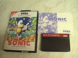 The First Video Game I Played - Sonic 1 For MS by DazzyDrawingN2