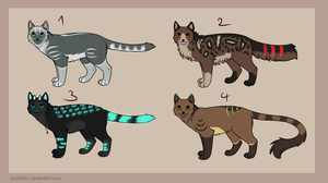 Adoptables 9 - SOLD by AcidNeku