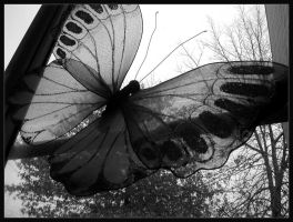 artificial butterfly by pyonicist