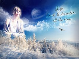 Wallpaper Back to December by AnnieSerrano