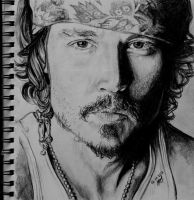 Johnny Depp by Val4eto0