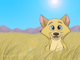 Diallo Pup (old) by Magicionary