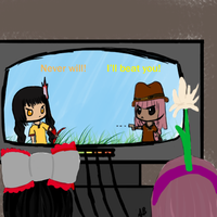 Video game night... by FruityBunny