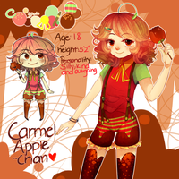 Caramle Apple-chan! GAY DESSERT ANIME by ShintaRee