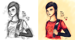 Ellie - The Last of Us by Ro-Arts