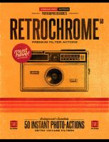 50 Photoshop Retro Vintage Effect Actions by IndieGround