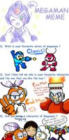 Mega Man Meme! by brittinroberts