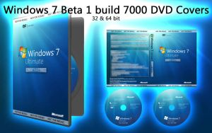 Windows 7 7000 Beta 1 Covers by janek2012