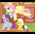 Babysitting with Fluttershy by SJArt117