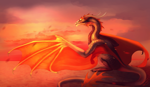 The Daughter of the Sun Silfandria by Karoughh