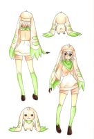 Terriermon - Gijinka Design by RoCkBaT