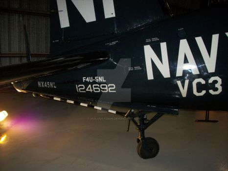 F4U-5NL tail wheel by drivernjax