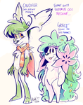 old shaymin ocs by cinsaut