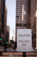Falling ice warning by YuffieV