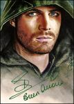 Arrow -autographed by DavidDeb